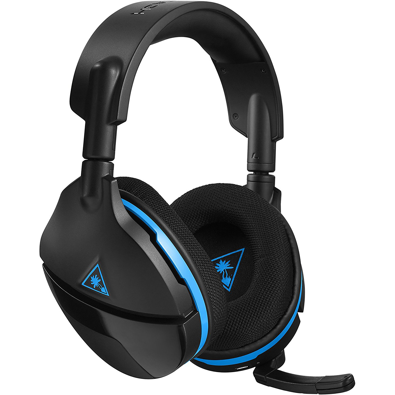Turtle Beach Stealth 600 Wireless Gaming Headset For Ps4 Pc Black Walmart Com Walmart Com