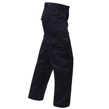 Navy Blue EMT or EMS Pants with Nine Pockets