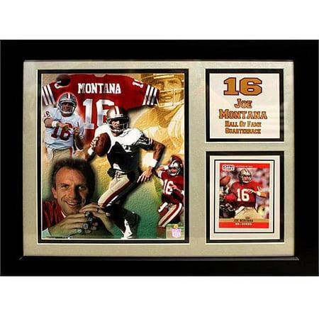 NFL Joe Montana Deluxe Frame, 11x14