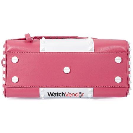 Valentino Rockstud Shoulder Bag- Bright Pink - image 1 de 4