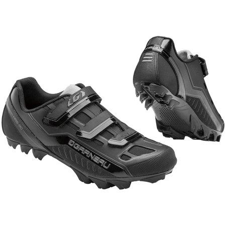 Louis Garneau Men's Gravel Cycling Shoes (Black, 38)