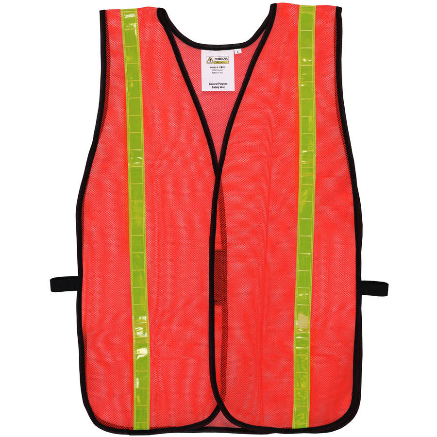 "Cordova Mesh Safety Vest with 1"" Reflective Tape"
