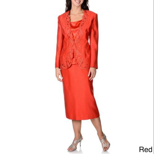 Original Ben Marc Executive 11521 Womens ThreePiece Skirt Suit