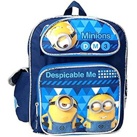 """Despicable Me 3 Minions 12"""" Toddler Mini Backpack - image 2 of 2"""