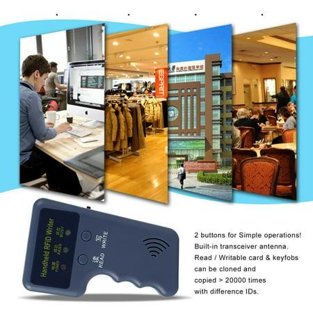 Safety Handheld 125KHz RFID Copier Writer RFID Duplicator EM ID