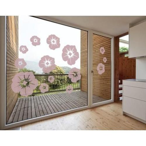 Style and Apply Blossom Mix Window Glass Decal Vinyl Wall Art Home Decor