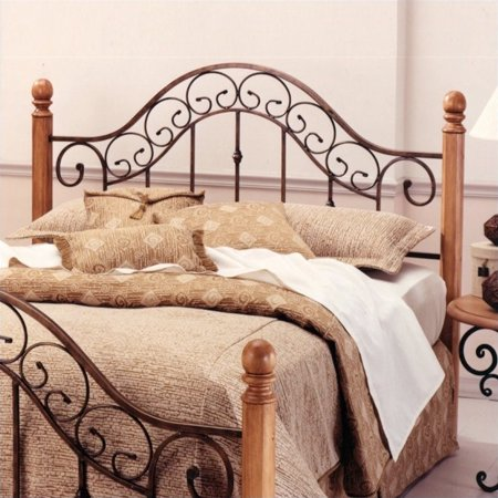 - Hillsdale San Marco Spindle Headboard in Copper-Full/Queen