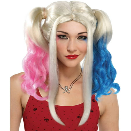 Harley Rules Wig Adult Halloween Accessory - Rules For Halloween For Kids