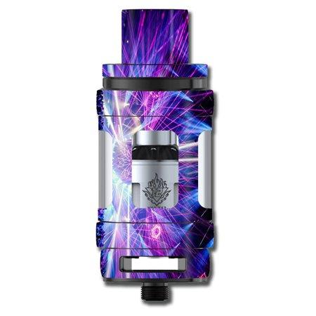 Skins Decals For Smok Tfv12 Cloud King Tank Vape Mod / Laser Trance Edm