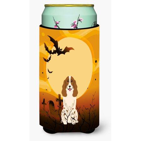 Halloween Russian Spaniel Tall Boy Beverage Insulator Hugger BB4297TBC - Russian Halloween