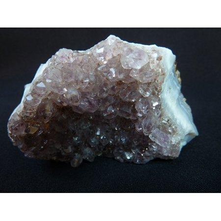 Canvas Print Gem Top Crystal Cave Agate Violet Druze Amethyst Stretched Canvas 10 x