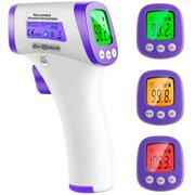 Best Temporal Thermometers - Madison Infrared Forehead Thermometer for Adults, Non Contact Review