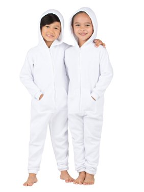 Footed Pajamas - White Frosting Toddler Footless Hoodie Onesie