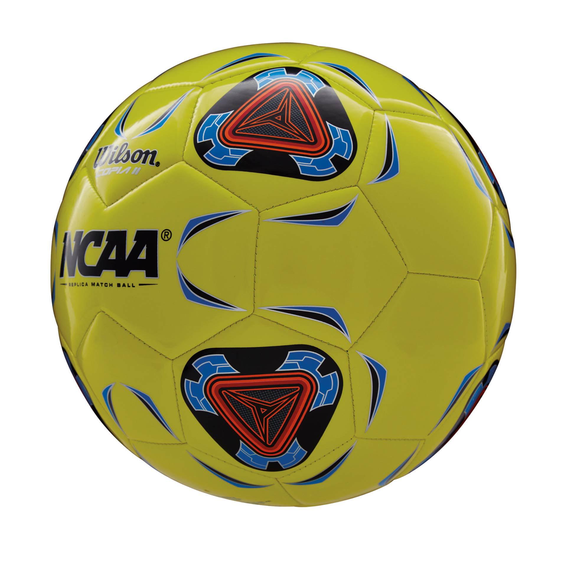 Wilson NCAA Copia II Soccer Ball 4 Optic Yellow