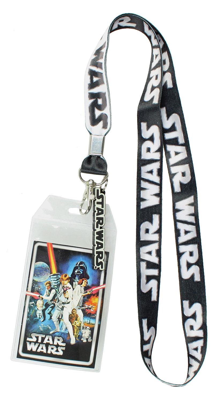 Star Wars Movie Multi Character Lanyard Fan Accessory