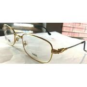 Fred Lunettes Beaupre Fidji Gold Silver Rope Frames 54mm Eyeglasses Rxable