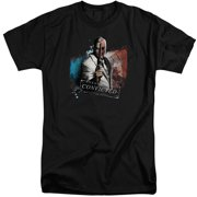 Arkham City Two Face Mens Big and Tall Shirt