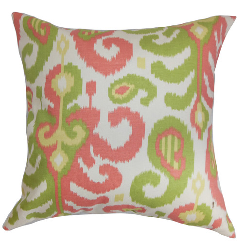 The Pillow Collection Scebbi Cotton Throw Pillow