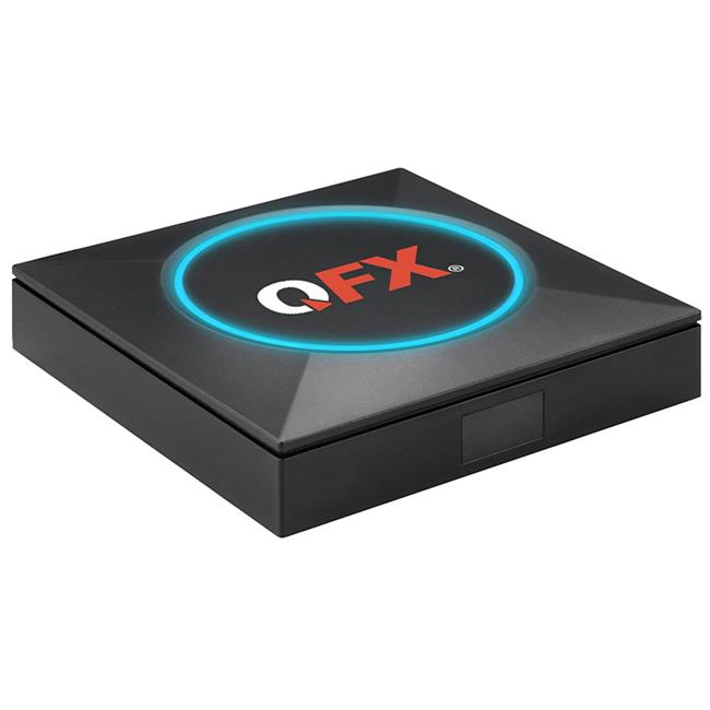 QFX ABX-905W Android TV Box with HD Antenna Included