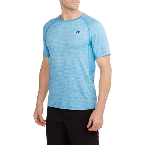 Russell Big Men's Chain Mesh Active Tee