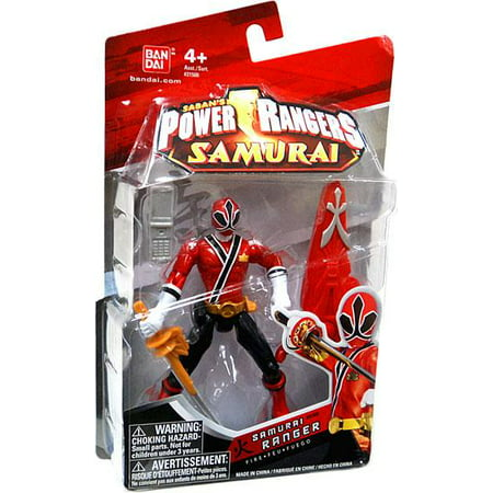 Power Rangers Samurai Ranger Fire Action Figure