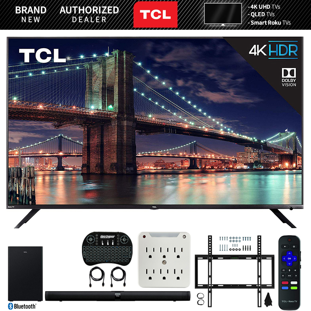 Tcl 75r617 75 Inch 6 Series 4k Uhd Dolby Vision Hdr Roku