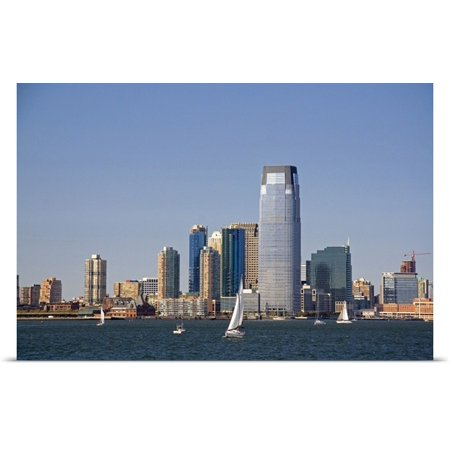 Great Big Canvas David R  Poster Print Entitled Goldman Sachs Tower In Jersey City  New Jersey