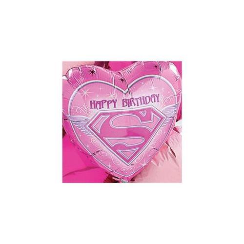 Bulk Buys Supergirl Birthday Mylar Balloon - Case Of 3