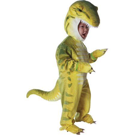 Morris costumes UR26026TLG T Rex Green Toddler 2-4