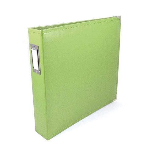 Scrapbook Classic Leather 3 Ring Album Aqua 12x12 Walmartcom