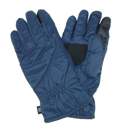 Size  Small / Medium Men's Touch Screen Gloves (Packs into Cuff)