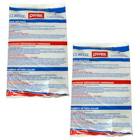 Pyrex Portables - Pyrex Portables Large Hot/Cold Unipack (2-Pack)