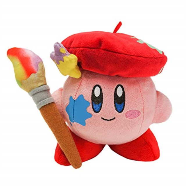 Details about  /Sanei Star Kirby Plush Toy Doll KP31 Artist Kirby