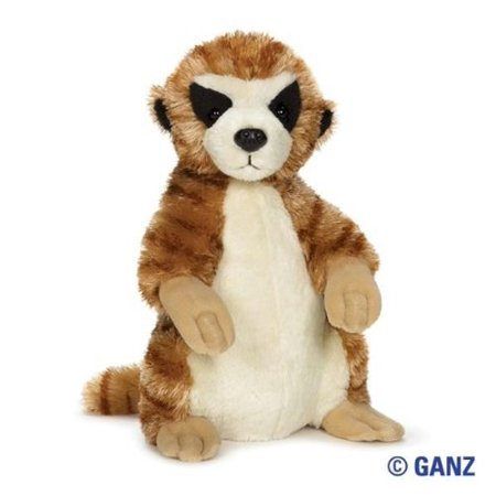 - Ganz Webkinz Meerkat Plush Toy Comes With Sealed Code
