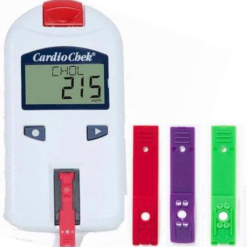 CardioCheck Blood Testing Device kit6 with 6 HDL - 6 Triglyceride  -6  Total Cho