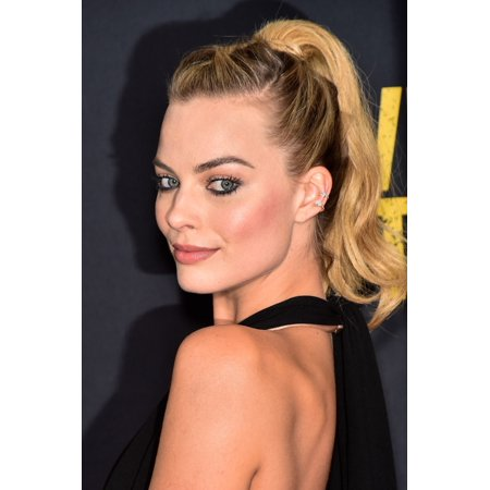 Margot Robbie At Arrivals For Whiskey Tango Foxtrot Premiere Canvas Art     16 X 20