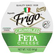 Frigo Feta Cheese Crumble 5 Oz. Cup