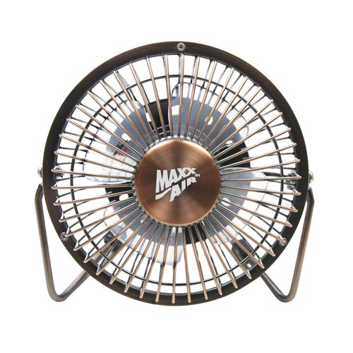 MaxxAir 4'' Table Fan with USB Plug