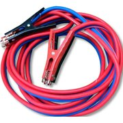 SUPER HEAVY DUTY 500 AMP 4 gauge No Tangle Battery Booster cables 20 feet EXTRA LONG with FREE travel BAG Jumper Cables Extra long 20FT