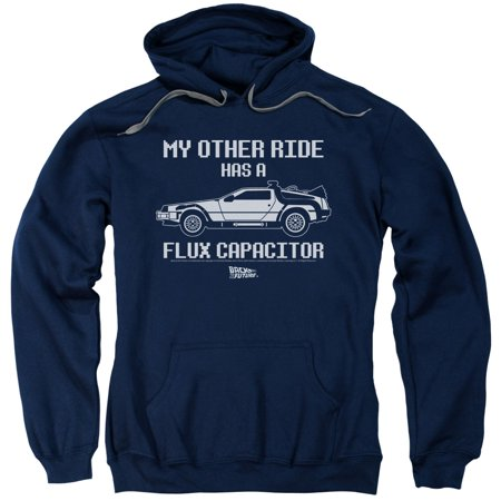 Back To The Future Sci-Fi Movie My Other Ride Flux Capacitor Adult