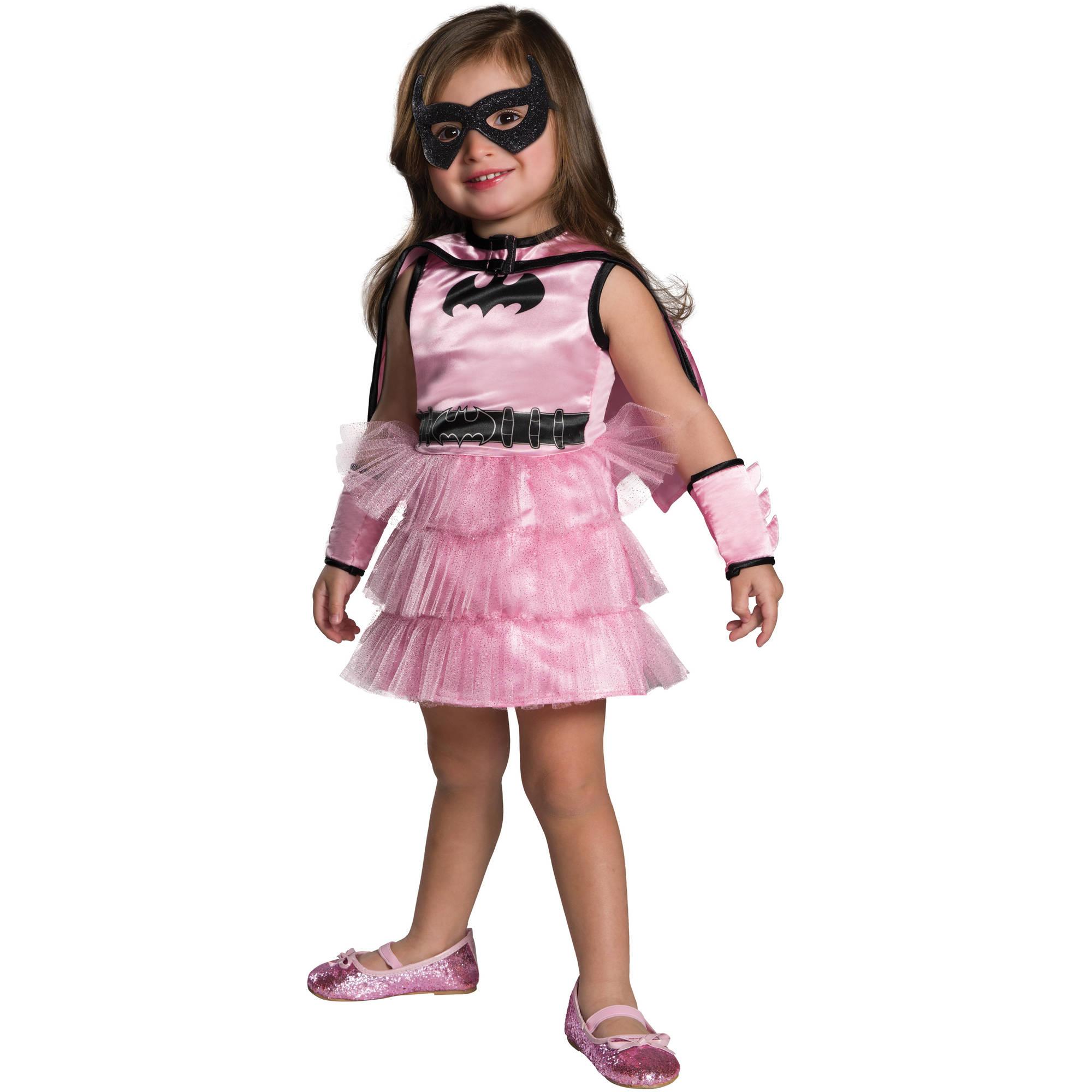 Batgirl Pink and Black Toddler's Costume, 2T