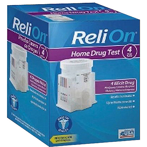 ReliOn 4 Panel Home Drug Test Kit