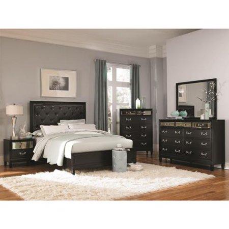 Versailles Black 5-piece Bedroom Set The Versailles 5 Piece California King Bedroom Col