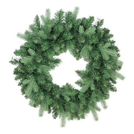 "24"" Coniferous Mixed Pine Artificial X-mas Wreath"