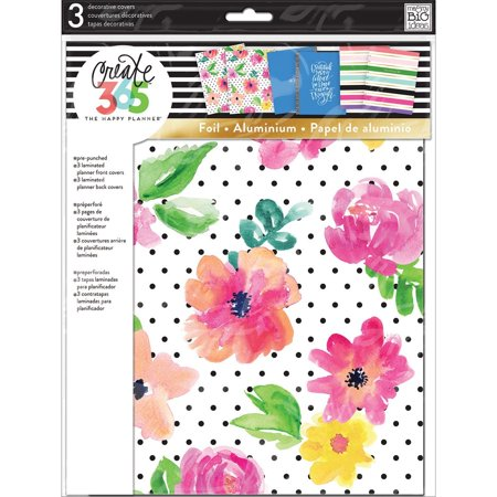 Create 365 Big Happy Planner Decorative Covers, For Planners and Bullet Journals By Me & My Big Ideas Ship from US
