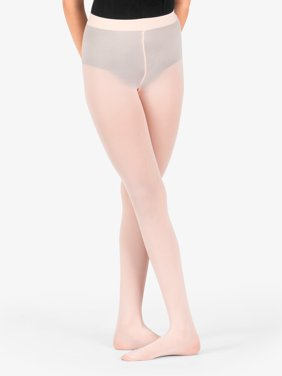 2ca386b1e Product Image Theatricals Girls Footed Tights with Smooth Self-Knit  Waistband