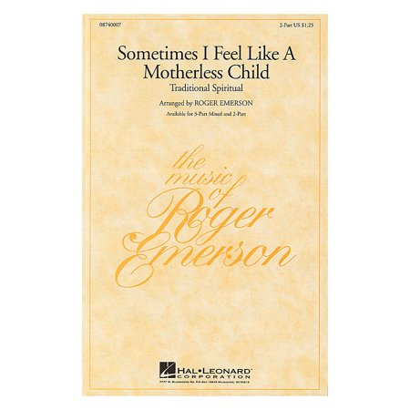 Kiss Mix (Hal Leonard Sometimes I Feel Like a Motherless Child 3-Part Mixed Arranged by Roger Emerson )