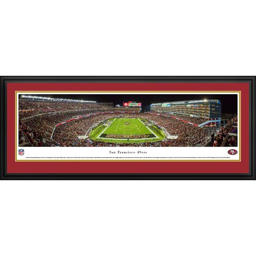Blakeway Worldwide Panoramas, Inc NFL San Francisco 49Ers - Levi'S Stadium by James Blakeway Framed Photographic Print