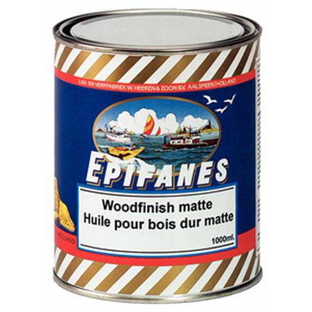 Epifanes WFM1000  WFM1000; Matte Wood Finish Quart