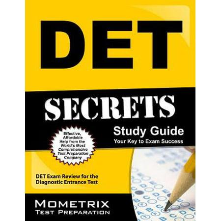 Det Secrets Study Guide : Det Exam Review for the Diagnostic Entrance Test
